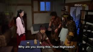 19. Jumong asks forgiveness for jeopardizing everyone