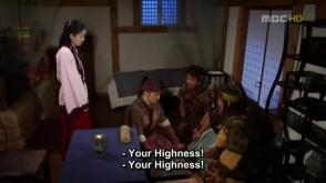 20. Jumong and the sworn brothers make Buyoung happy