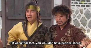 23. Jumong caught in the trap.