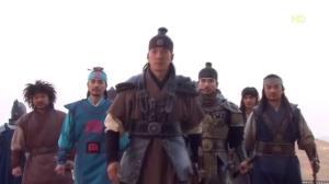 Jumong ep 54 the Damul leaders visit Buyeo