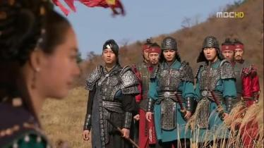Bidam, watchful for Princess Deokman _Ep.50