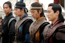 It is the most staunch of warriors who take the issue of loyalties very seriously. The fiercest in Deokman's generation, from left: Bidam, Yushin, Alcheon, Bojong