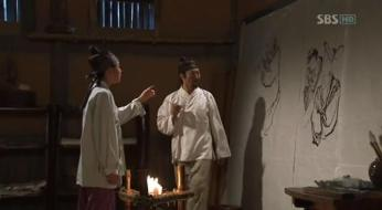 g.  Dan Won helps Yun Bok heal by painting _Painter of the Wind (1)