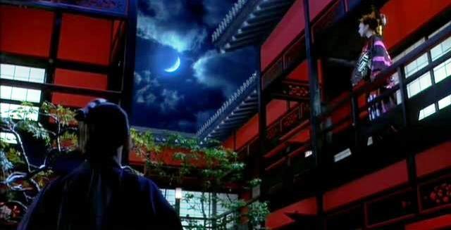 Kiyoha-Higurashi & Seiji _looking at the moon