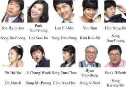 My Too Perfect Sons _ cast