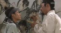 Dan Won & Hye Won paint a mural