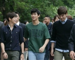Park Ki Woong _& Secretly Greatly co-stars