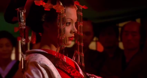 16.  Kiyoha surrenders and becomes Higurashi Oiran