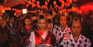 6.  Seiji is behind Kiyoha _parade of Higurashi the Oiran