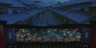 7.  Sakuran_2007  the Yoshiwara main street at dawn