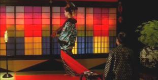 8 .  Higurashi & her samurai suitor