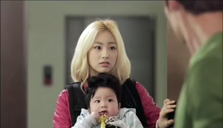 baby Gooki visits uncle Chang Min _ep 19a