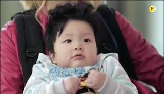 baby Gooki visits uncle Chang Min _ep 19d