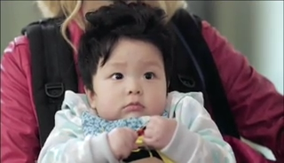 baby Gooki visits uncle Chang Min _ep 19e