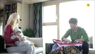 baby Gooki visits uncle Chang Min _ep 19f