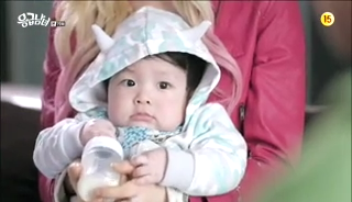 baby Gooki visits uncle Chang Min _ep 19h