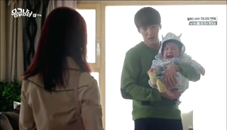 baby Gooki visits uncle Chang Min _ep 19i
