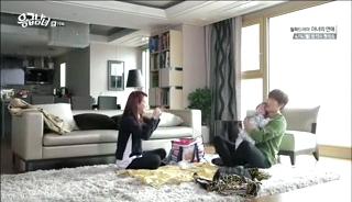baby Gooki visits uncle Chang Min _ep 19k