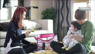 baby Gooki visits uncle Chang Min _ep 19l