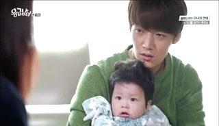 baby Gooki visits uncle Chang Min _ep 19n