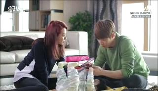 baby Gooki visits uncle Chang Min _ep 19o