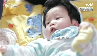 baby Gooki visits uncle Chang Min _ep 19q