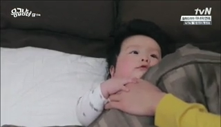 baby Gooki visits uncle Chang Min _ep 19x