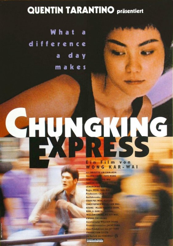 Chungking Express _deutsch poster