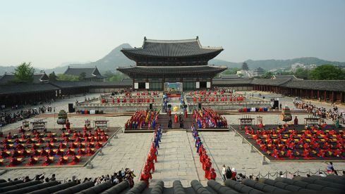modern day celebration of king sejong's birthday _2012