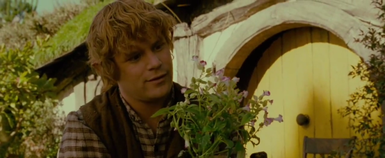 all hobbits share a love for things that grow