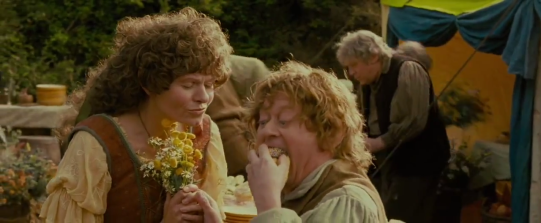 hobbits' reputed passion for food