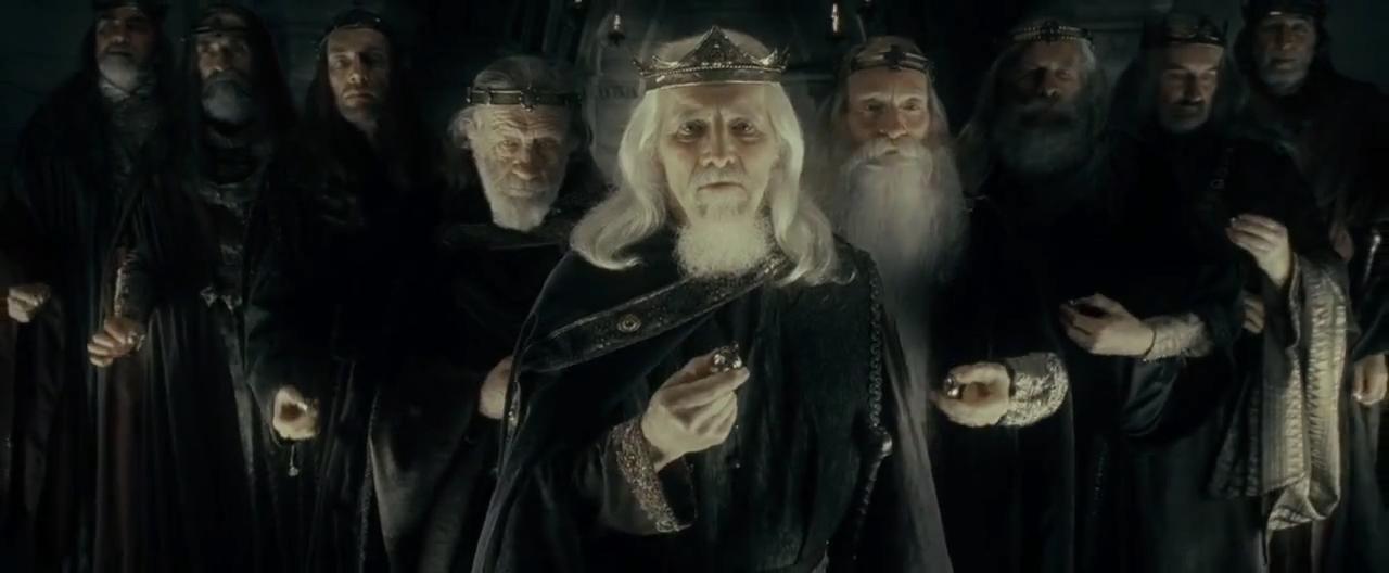 9 kings of men.