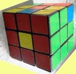 Rubik's cube 4 _nearly