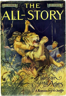 Tarzan of the Apes in All Story 1912