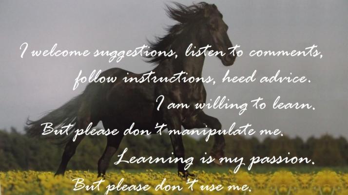 I, learn