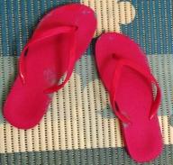 my pink flip-flops